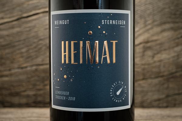 Heimat Lemberger 2018 Blue Label - Weingut Sterneisen