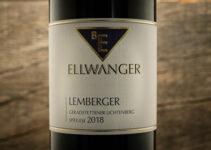 Lemberger Geradstettener Lichtenberg Spätlese 2018 – Bernhard Ellwanger