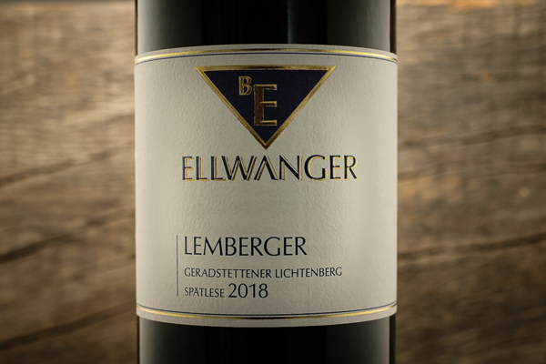 Lemberger Geradstettener Lichtenberg Spätlese 2018