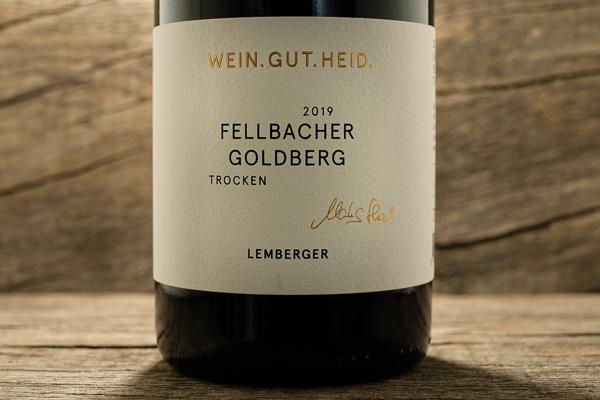Fellbacher Goldberg Lemberger 2019 - Weingut Heid
