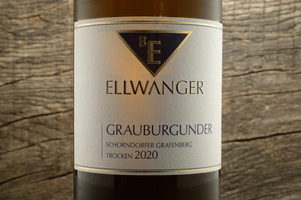 Grauburgunder Schorndorfer Grafenberg 2020 - Weingut Bernhard Ellwanger